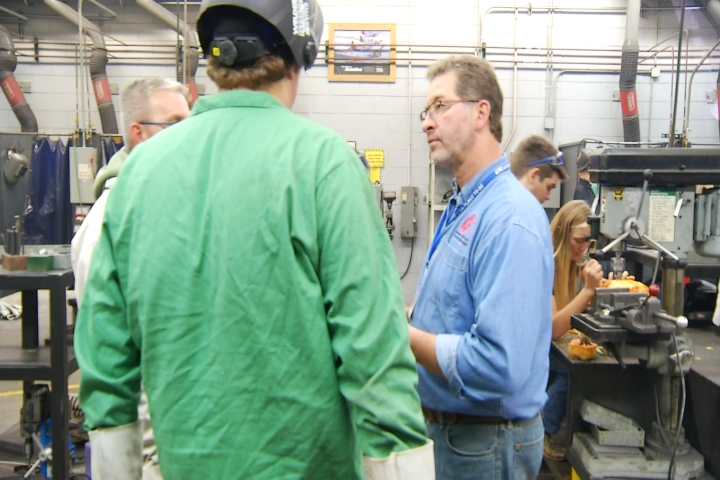 Wexford Missaukee Career Tech Welding Instructor Awarded For Excellence 9 10 News