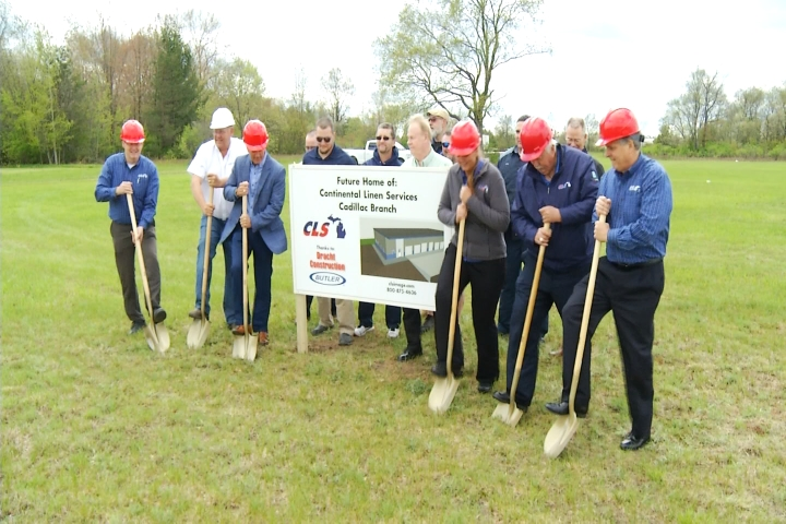 Family Owned Michigan Business Breaks Ground For New