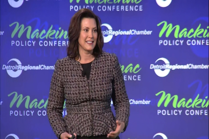 Gov Whitmer To Deliver Democratic Response To President Trump S State Of The Union 9 10 News