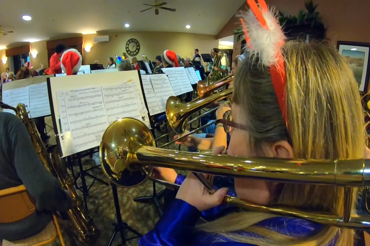 Pine Lake Winds Band Spreading Holiday