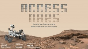 Access to the Mars home page