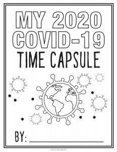 2020 Covid 19 Time Capsule Sheets