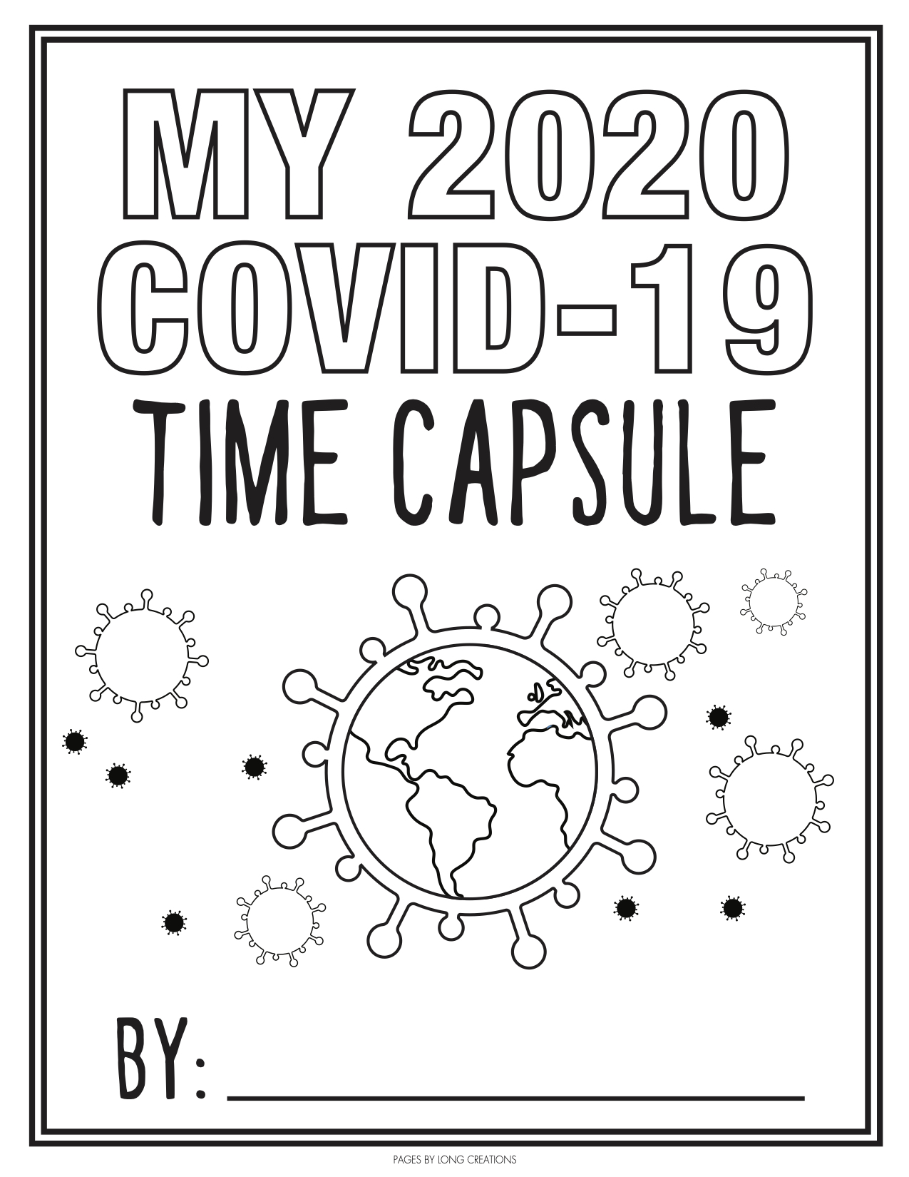 It's just an image of Time Capsule Printable Worksheets for kindergarten