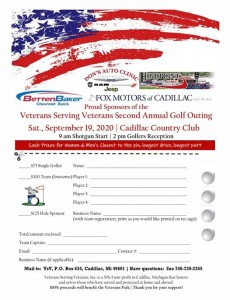 Vets Golf Outing