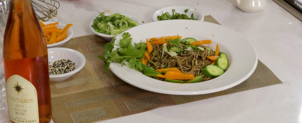 Chilled Soba Noodle Bowl With Cucumbers And Sesame.00 02 58 29.still001