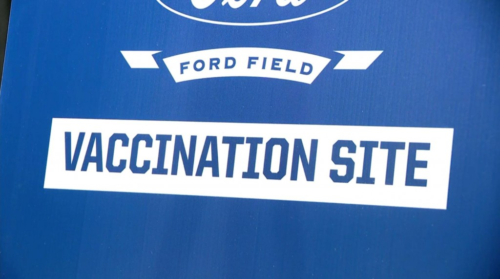 Ford Field Vaccination