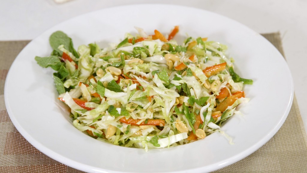Cabbage And Peanut Salad With Thai Style Dressing00 03 13 14still001