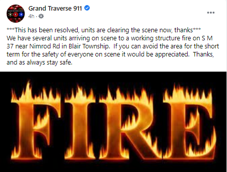06 15 21 Gt Co Fire Resolved