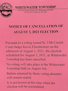 Whitewater No Election